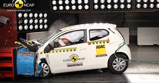 Crash-test Toyota Aygo : la vidéo et les photos