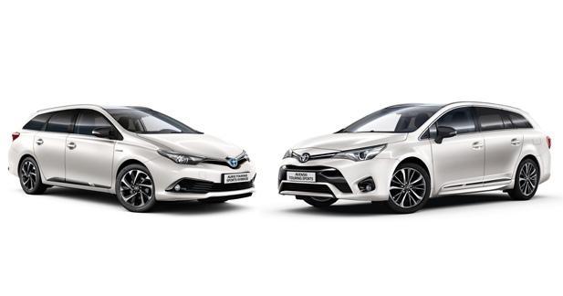 Toyota Auris et Avensis Touring Sports Salomon: suréquipées pour l'hiver