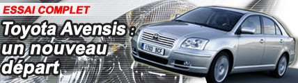 Toyota Avensis : un nouveau départ