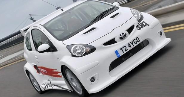 Toyota Aygo Crazy : l'Aygo perd la raison