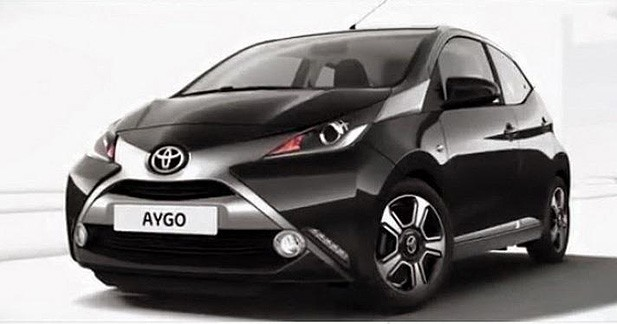 premi re image de la nouvelle toyota aygo. Black Bedroom Furniture Sets. Home Design Ideas