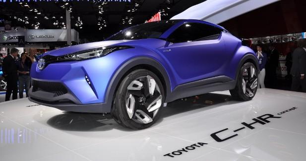 Mondial Auto 2014 : Toyota C-HR, l'étude de SUV-coupé se dévoile