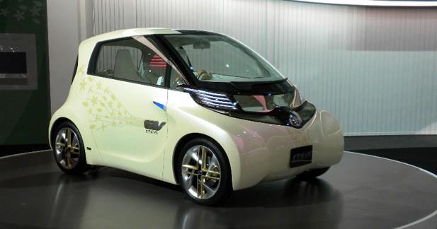 Toyota FT-EV II : micro-car branchée