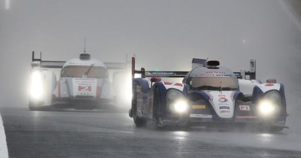 WEC – Fuji: la pluie s'impose devant Toyota et Audi