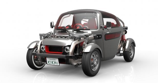 Toyota Kikai: un buggy décalé pour le salon de Tokyo