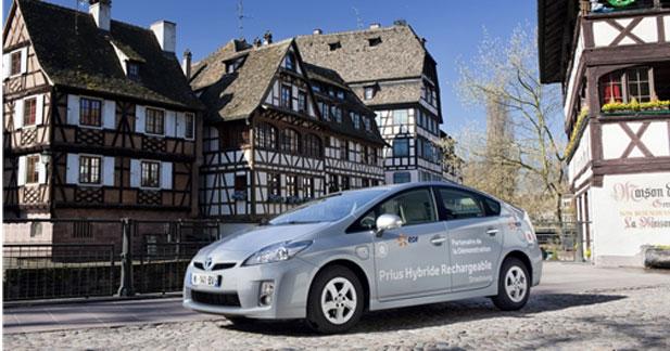 Test de la Prius rechargeable à Strasbourg : le bilan