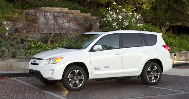 Toyota : un deuxième RAV4 électrique à Los Angeles