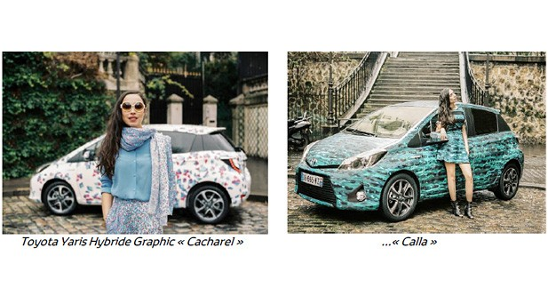 On the Road avec la Toyota Yaris Hybride Graphic