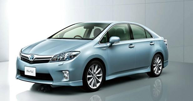 Toyota SAI : une grande soeur pour la Prius ?
