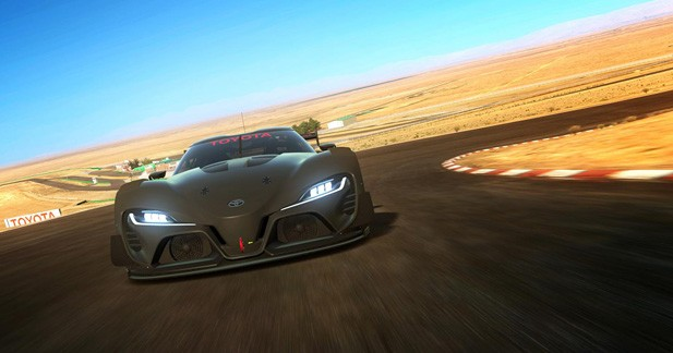 Toyota se fait plaisir sur Gran Turismo 6