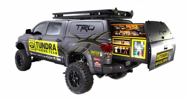 Sema Show : un Toyota Tundra pour aller à la pêche