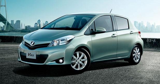 Toyota Vitz : la future Yaris en filigrane