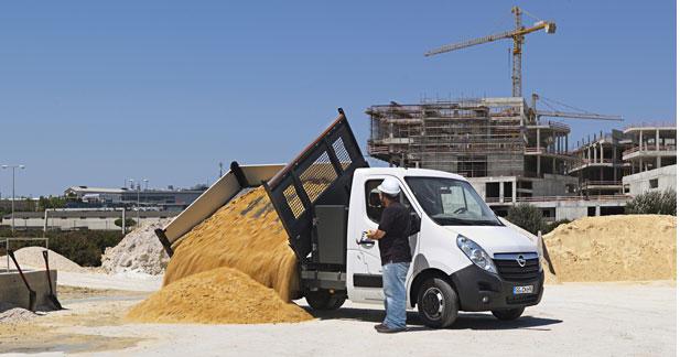 Opel renouvelle sa gamme pour les pros
