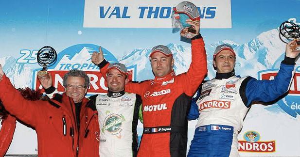 Trophée Andros 2014 : premier podium pour Mazda
