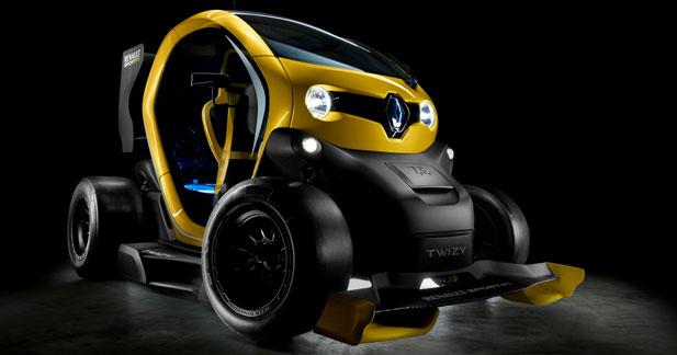 Twizy Renault Sport F1 : un KERS qui met les watts