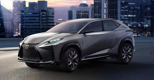Le concept Lexus LF-NX passera au turbo à Tokyo