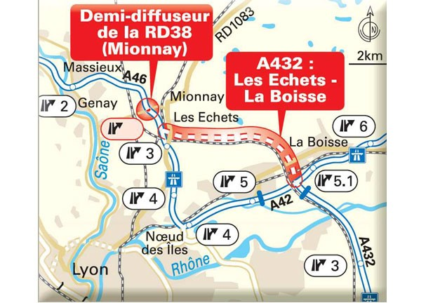 Ouverture de l'A432 : une nouvelle autoroute pour contourner Lyon
