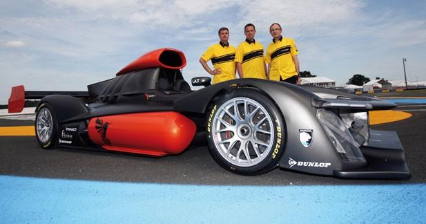 Dunlop s'associe à la Green GT H2 pour Le Mans 2013
