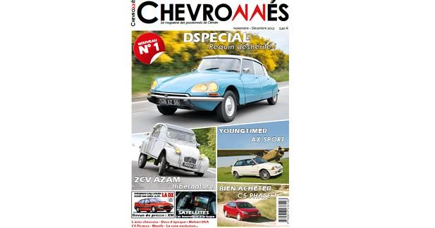 Chevronnés : un nouveau magazine pour les Citroënistes