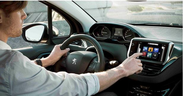 Peugeot proposera des services connectés à bord de la 208