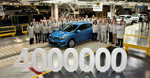 L'usine Renault de Palencia a produit 4 millions de Mégane
