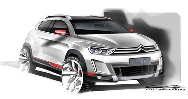Un petit crossover Citroën au salon de Pékin ?