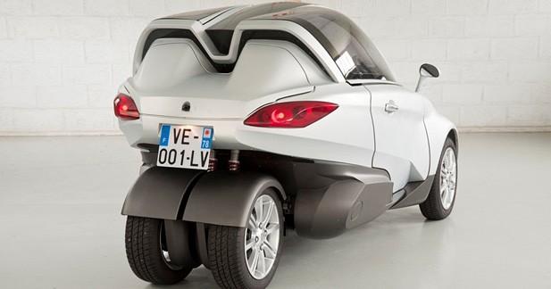 PSA VéLV : faux trois roues électrique, vrai concept urbain