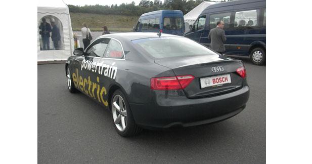 Une Audi A5 électrique avec 4 roues motrices pour un plaisir à la carte
