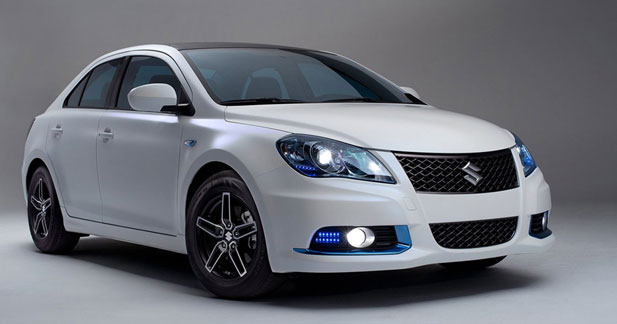 Kizashi EcoCharge : un concept hybride chez Suzuki