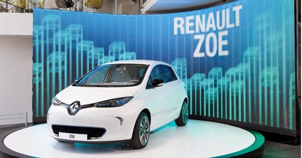 Renault Zoé : une électrique qui joue la carte du made in France