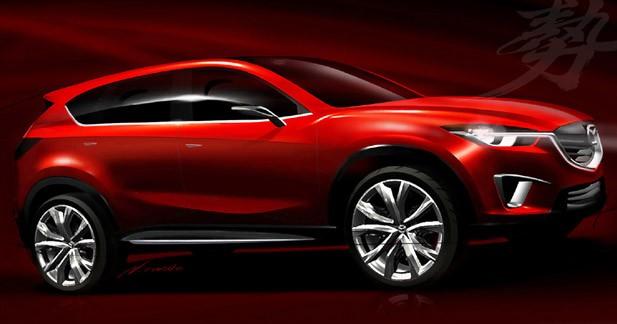 Mazda Minagi : un concept ''vert''