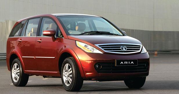 Tata Aria : un crossover 7 places à Genève