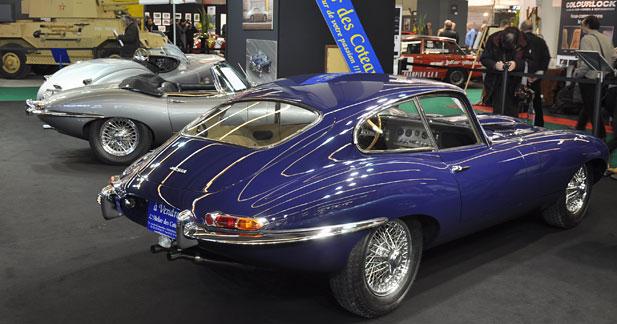 Les 50 ans de la Jaguar Type E à Rétromobile
