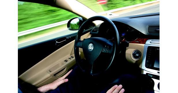 Volkswagen en mode pilotage automatique