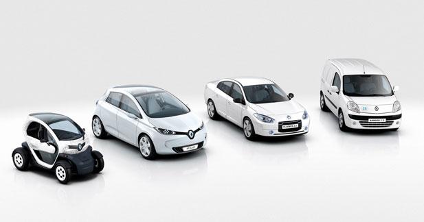 Renault réaffirme son ambition d'être le leader de l'électrique avec Nissan