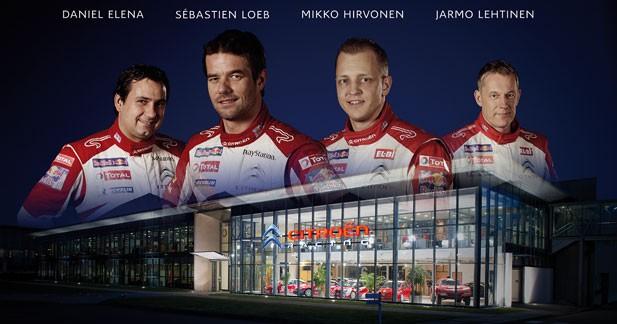 Citroën en WRC : un documentaire exclusif sur Internet et au cinéma