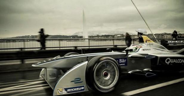 Une F1 dans les rues de Genève