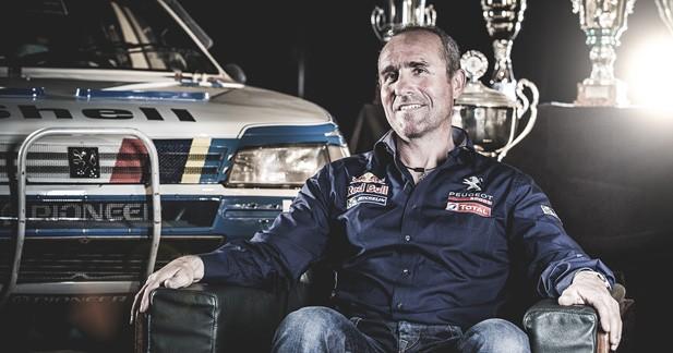 Peugeot officialise Stéphane Péterhansel au Dakar 2015