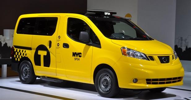 Nissan NV200 taxi : Un japonais pour remplacer les fameux Black Cab ?