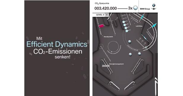 Une application de flipper chez BMW pour le développement durable