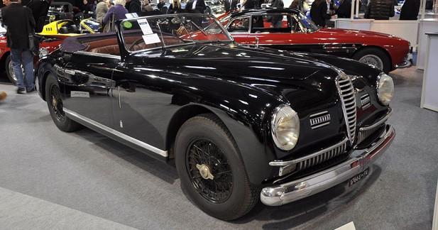 Rétromobile : une rarissime Alfa Romeo 6C 2500 Super Sport à la vente Artcurial