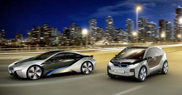 BMW i : pas de remise en cause pour l'i3 et l'i8