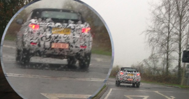 Photo volée : Land Rover prépare un Evoque cabriolet