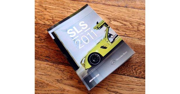 La SLS E Cell en version agenda au salon de Detroit
