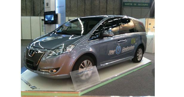 Luxgen EV+ : le monospace électrique made in Taiwan