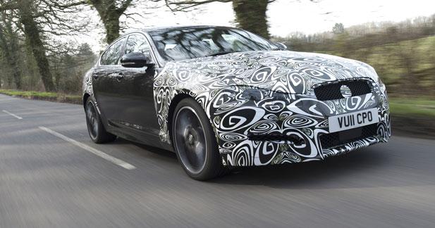 Un 4 cylindres diesel 2.2 pour la Jaguar XF