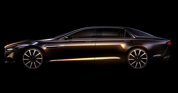 Aston Martin tease sa Lagonda