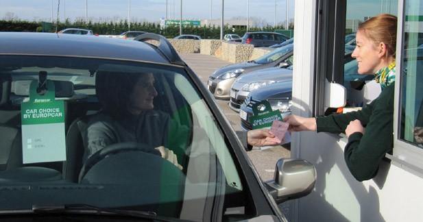 Europcar lance la location express