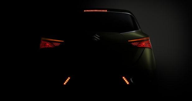 La Suzuki S Cross vue de derrière
