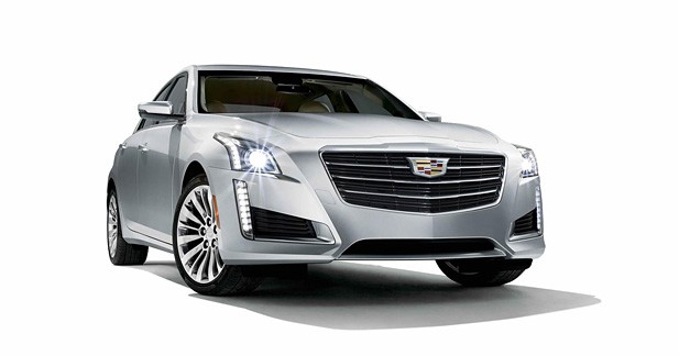 Cadillac restyle sa routière CTS
